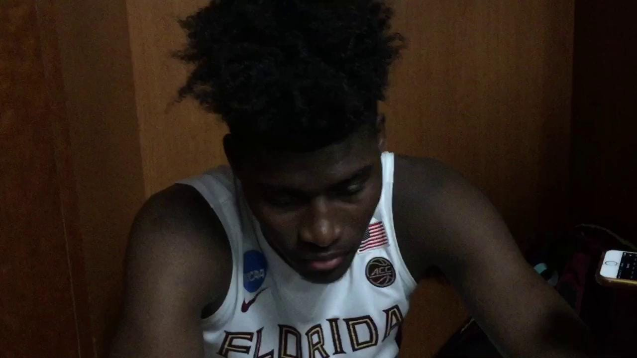 Watch it: FSU forward Jonathan Isaac talks Xavier loss