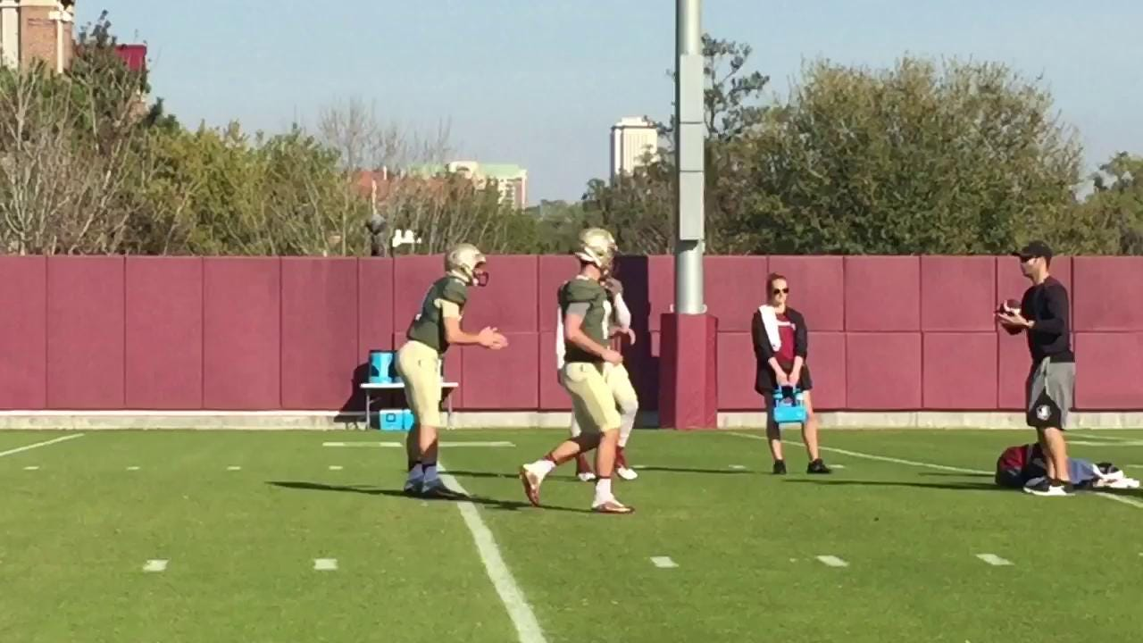 Watch it: Sights and Sounds from FSU spring practice