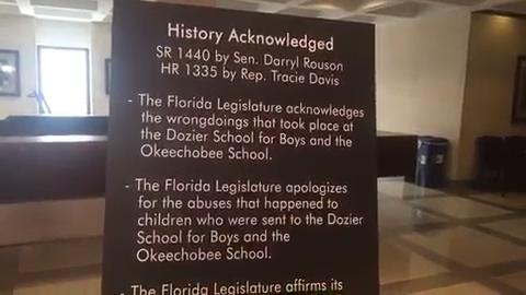 Watch it: Dozier School apology