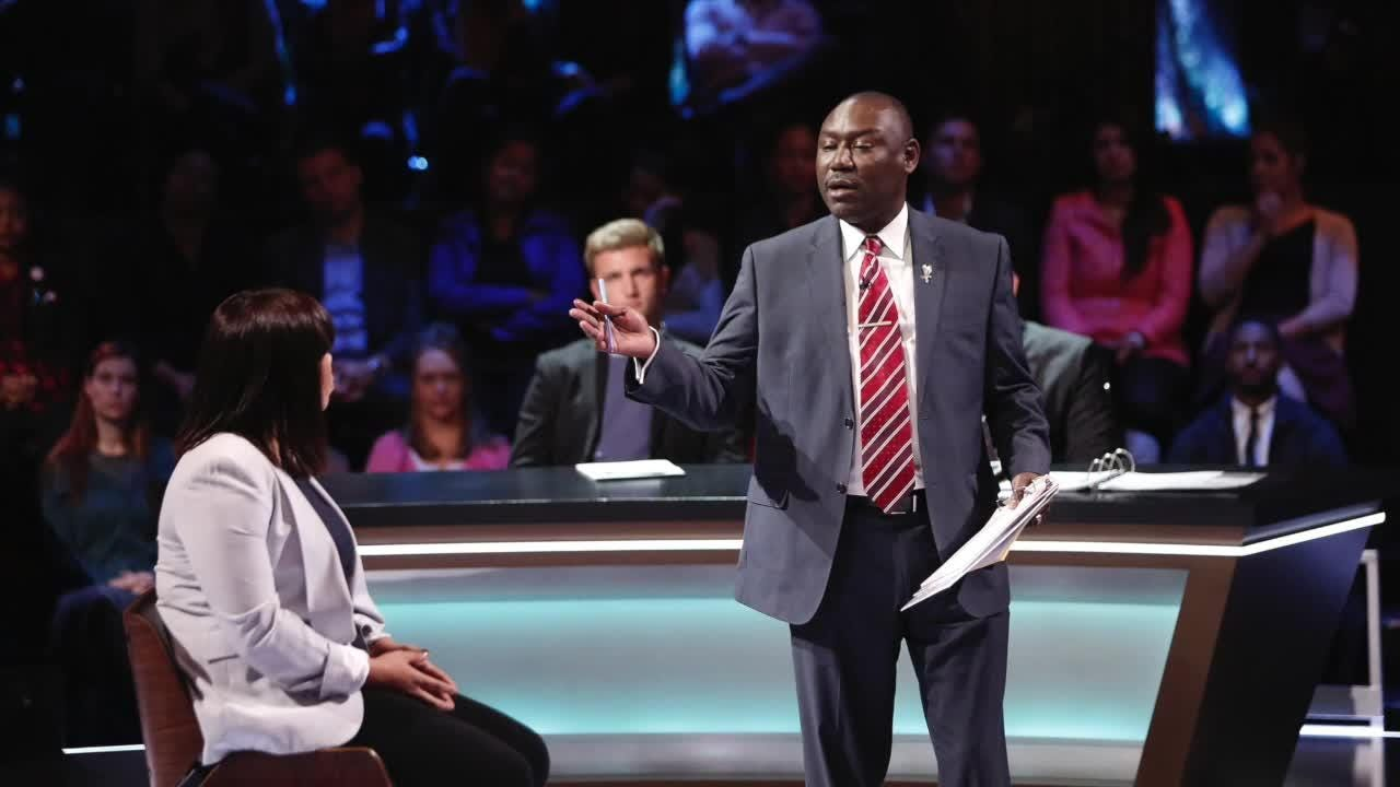 Watch it: Ben Crump talks about being on 'You the jury'