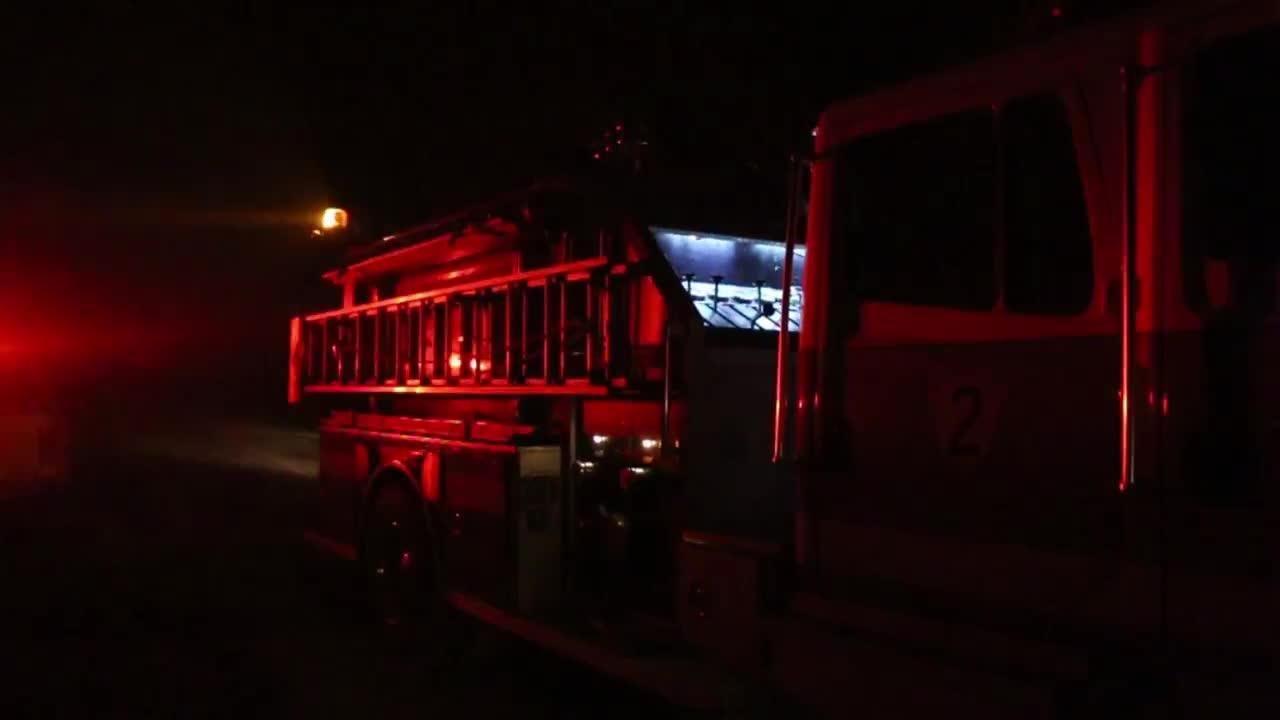Watch it: St.  George Island Fire