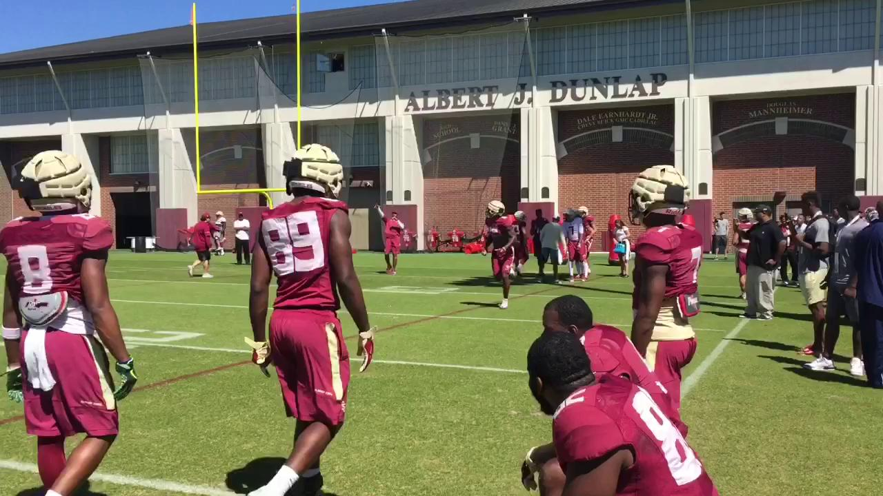 Watch it: FSU practice sights and sounds