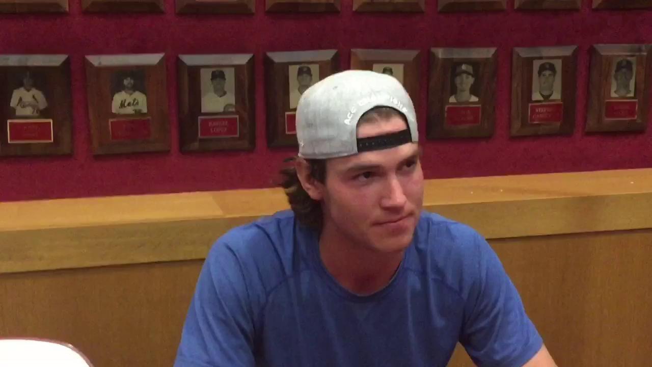 FSU starting pitcher Tyler Holton talks NCAA regional