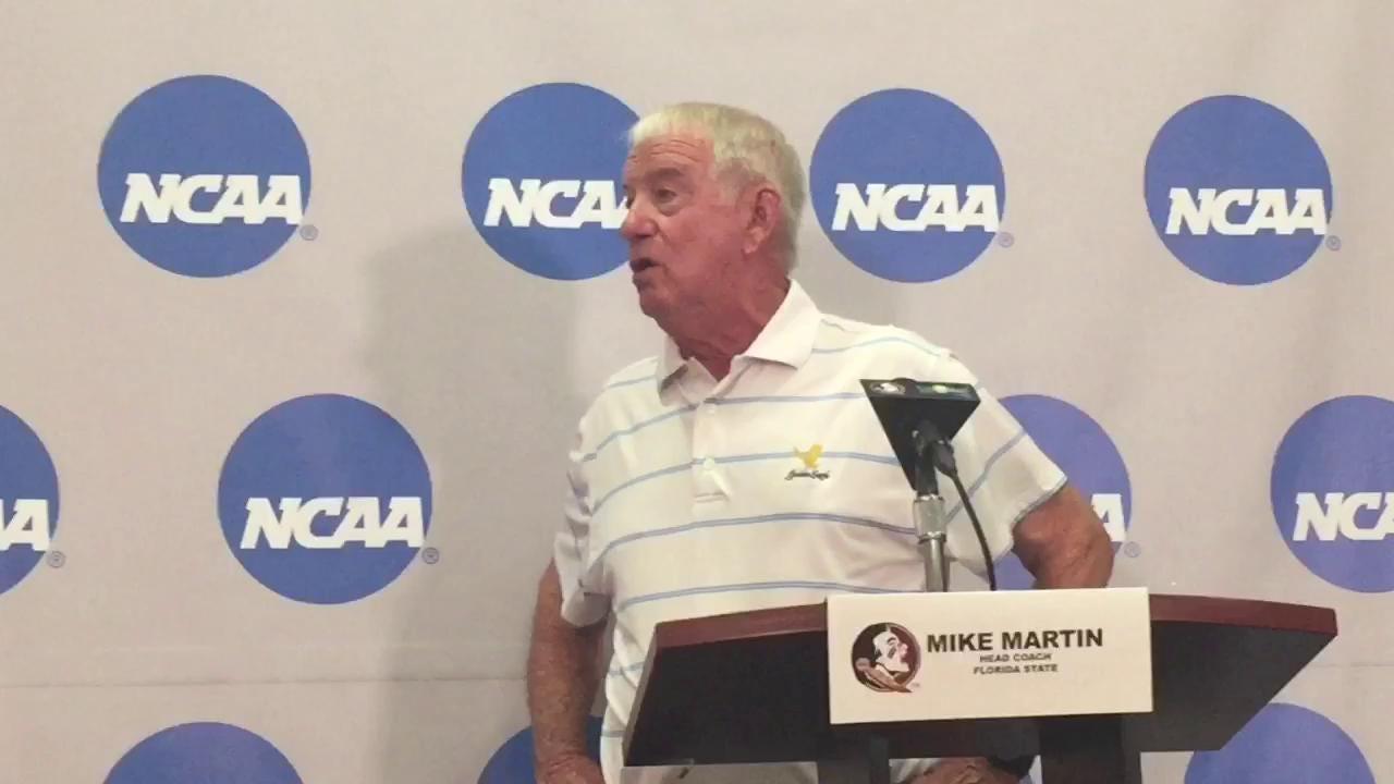 FSU coach Mike Martin talks Tallahassee regional