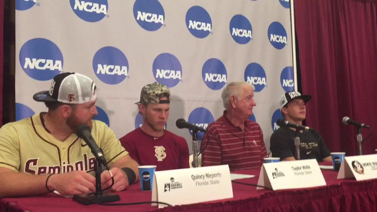 Watch it: FSU post super regional press conference