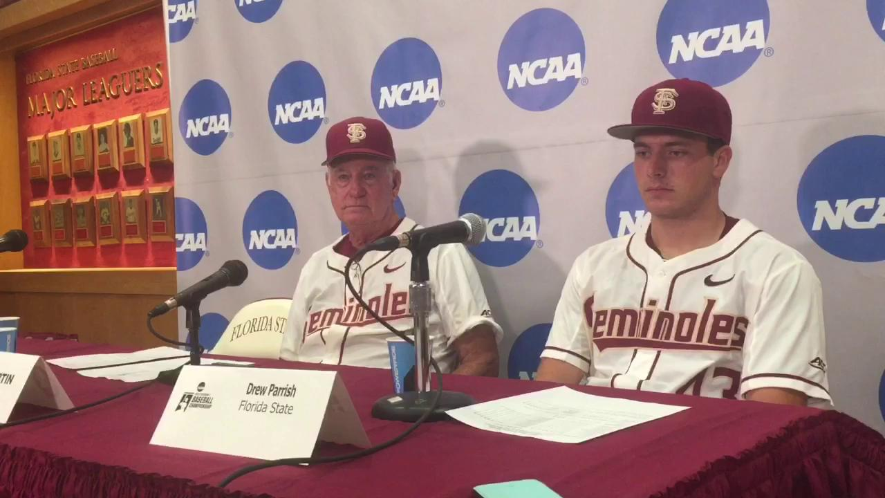 Watch it: FSU coach Mike Martin and starter Drew Parrish talk TTU loss