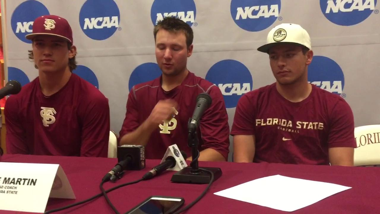 Watch it: FSU's Holton, Raleigh, and Parrish preview SHSU