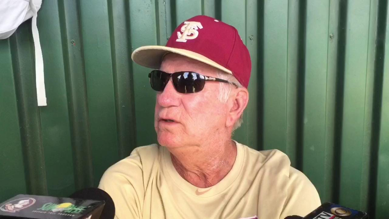 Watch it: FSU coach Mike Martin talks LSU and more