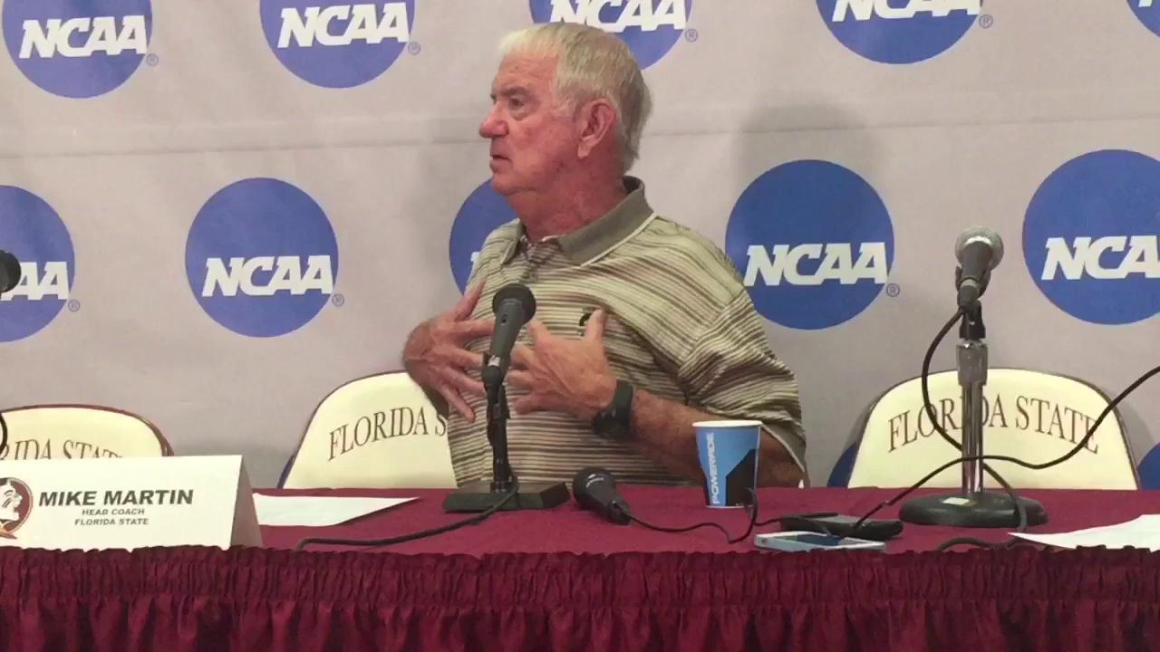 FSU coach Mike Martin talks 27th regional title
