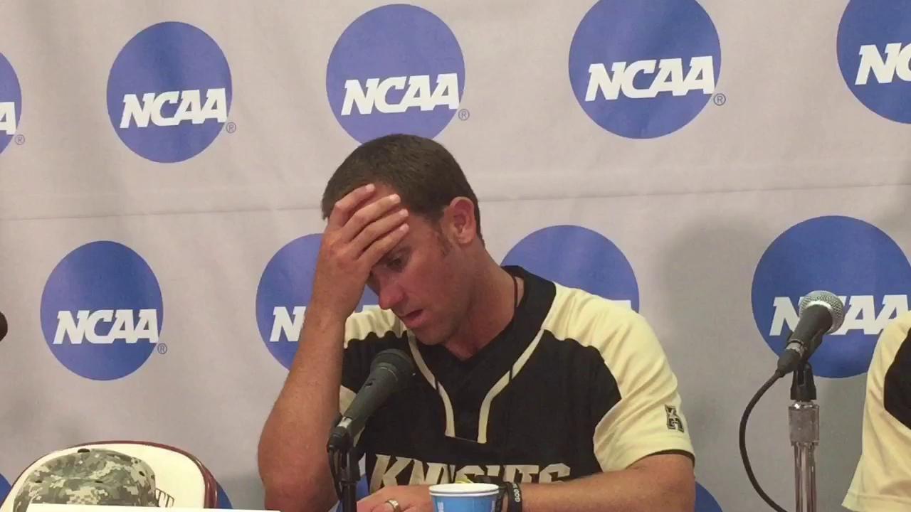 Watch it: UCF coach Greg Lovelady tearfully recaps loss to FSU