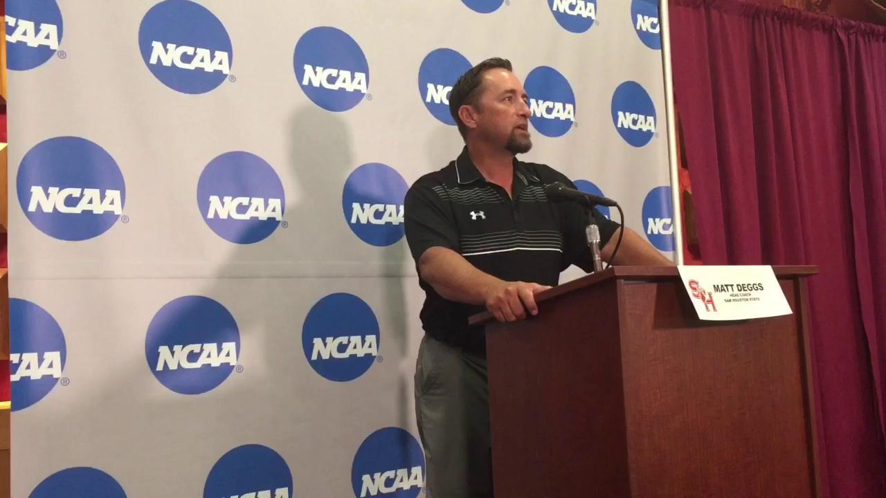 Watch it: Sam Houston State coach Matt Deggs talks super regional