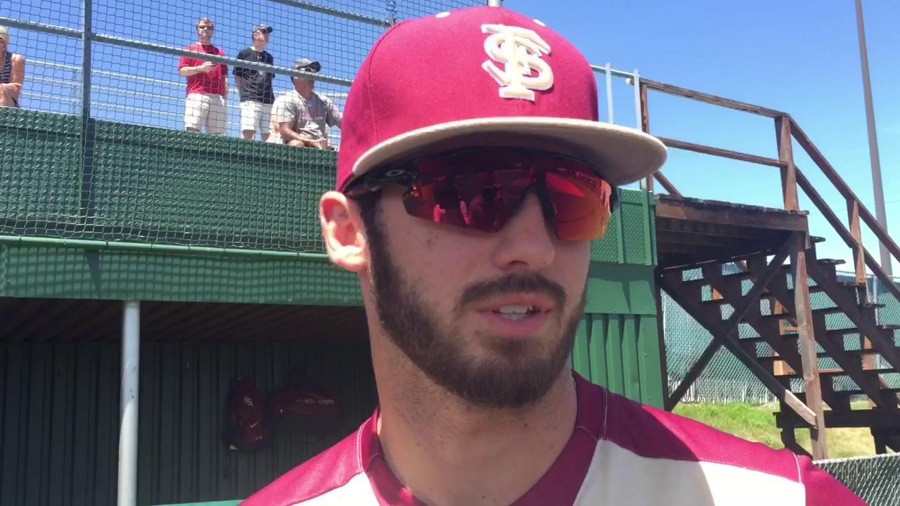 Watch it: FSU's Dylan Busby on his bat and LSU