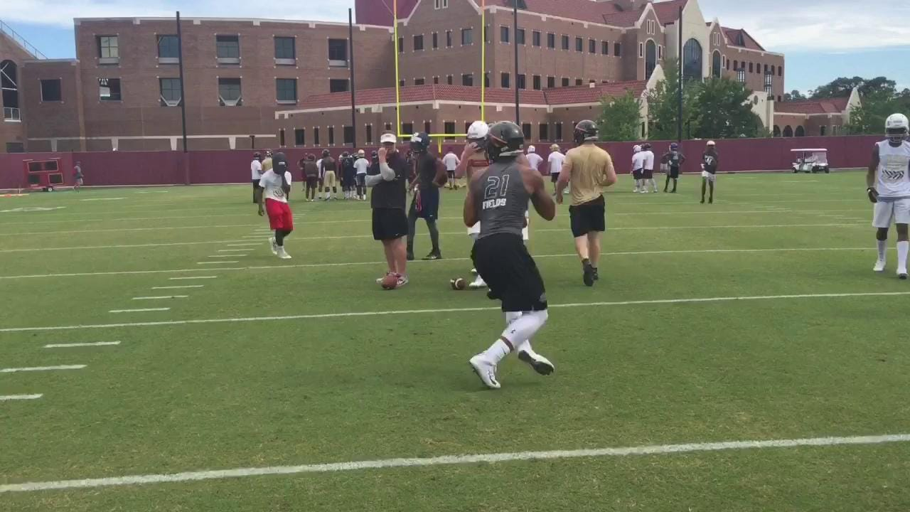 Highlights: Justin Fields looked every bit the 5-star at FSU's camp