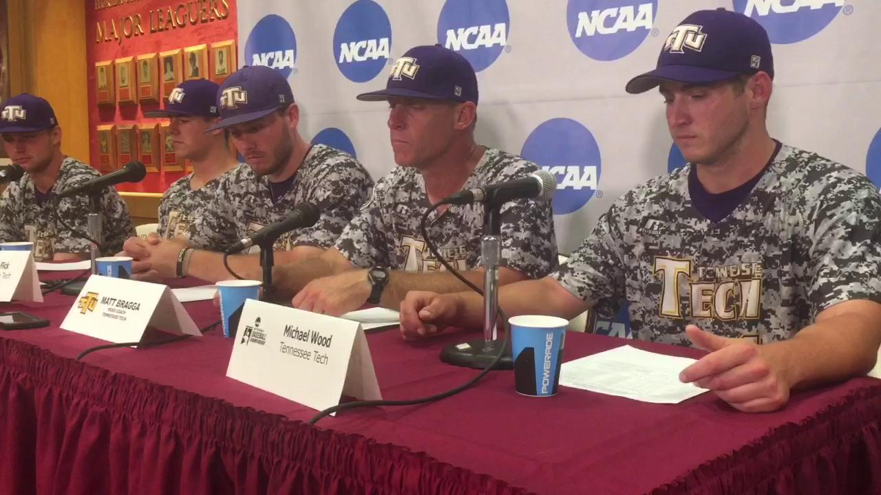 Watch it: Tennessee Tech talks FSU win in the Tallahassee regional