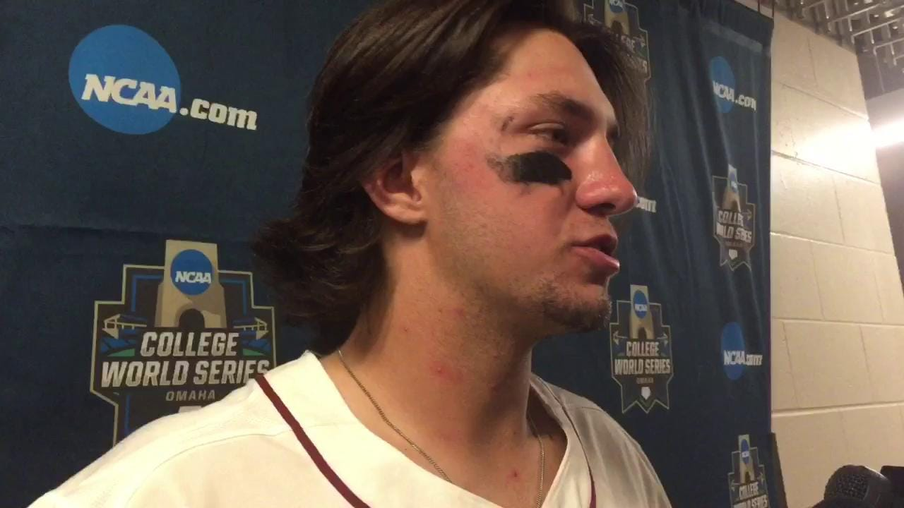 Watch it: FSU first baseman Drew Mendoza talks LSU loss