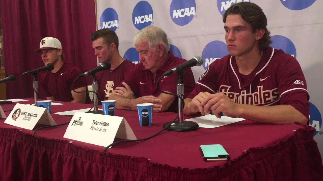 Watch it: FSU's Mike Martin and players recap wild win over SHSU