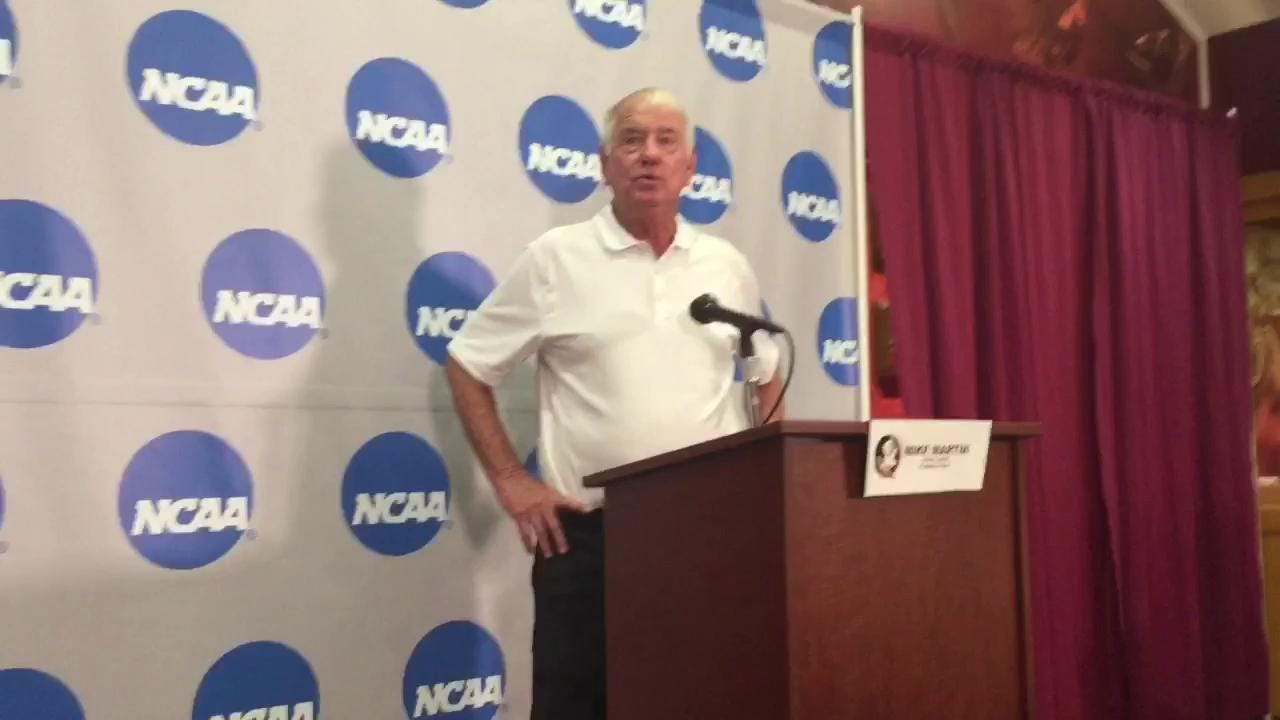 Watch it: FSU coach Mike Martin talks Tallahassee super regional