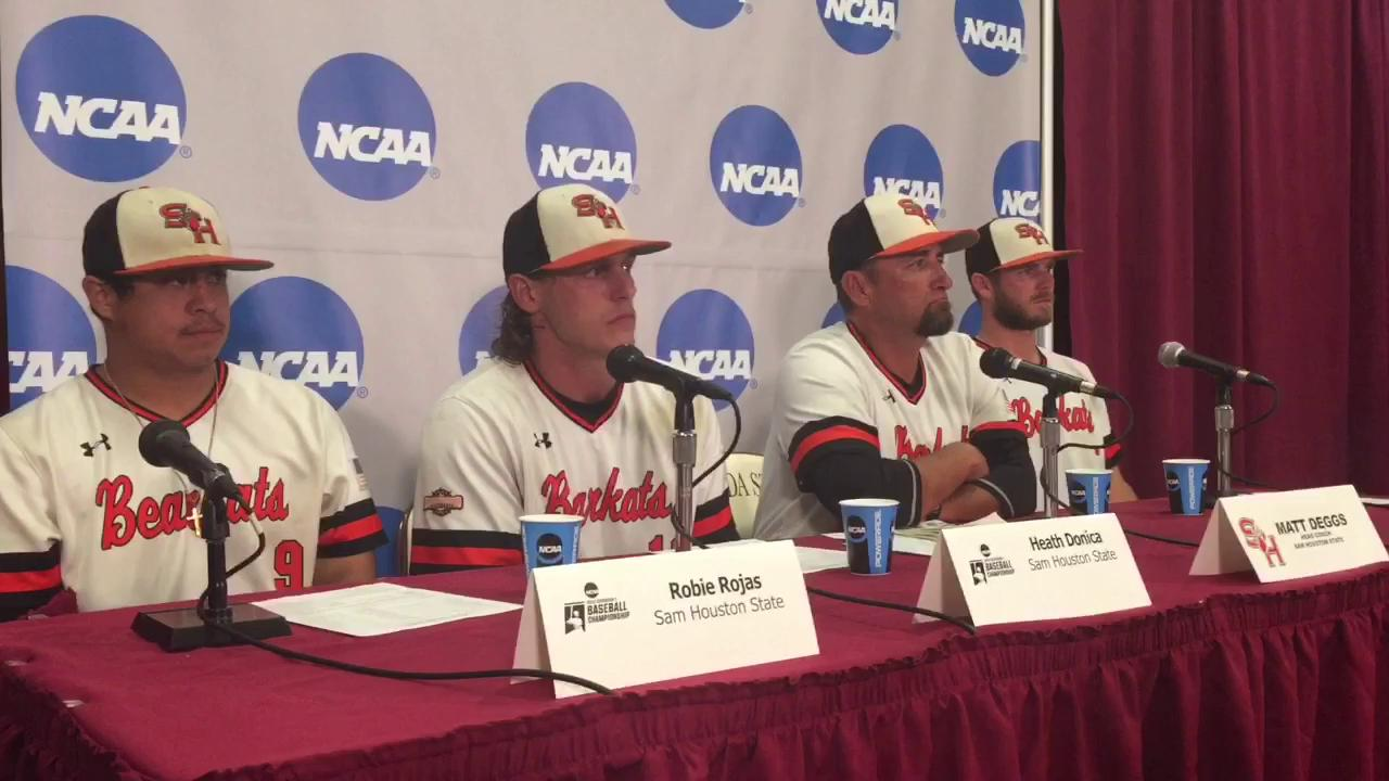 Watch it: Sam Houston State post super regional press conference