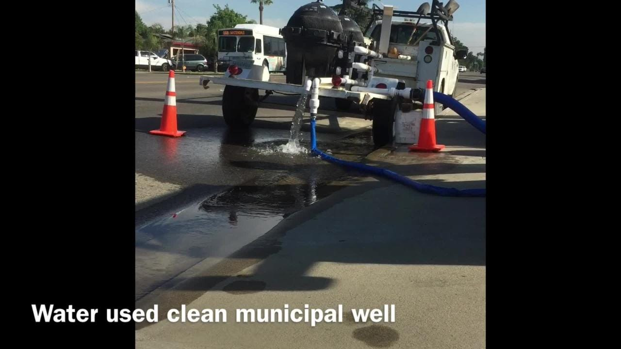 Cal Water maintenance project
