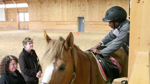 Horse riding brings quality of life for cancer patients