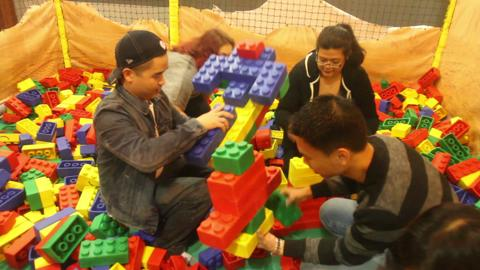 Adults discover their inner child at Legoland in Yonkers