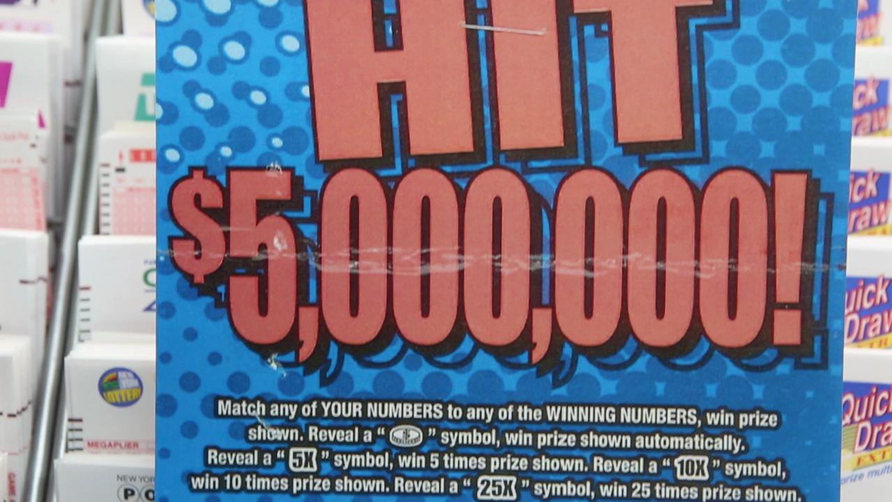 Video: Yonkers resident wins lotto with scratch-off ticket