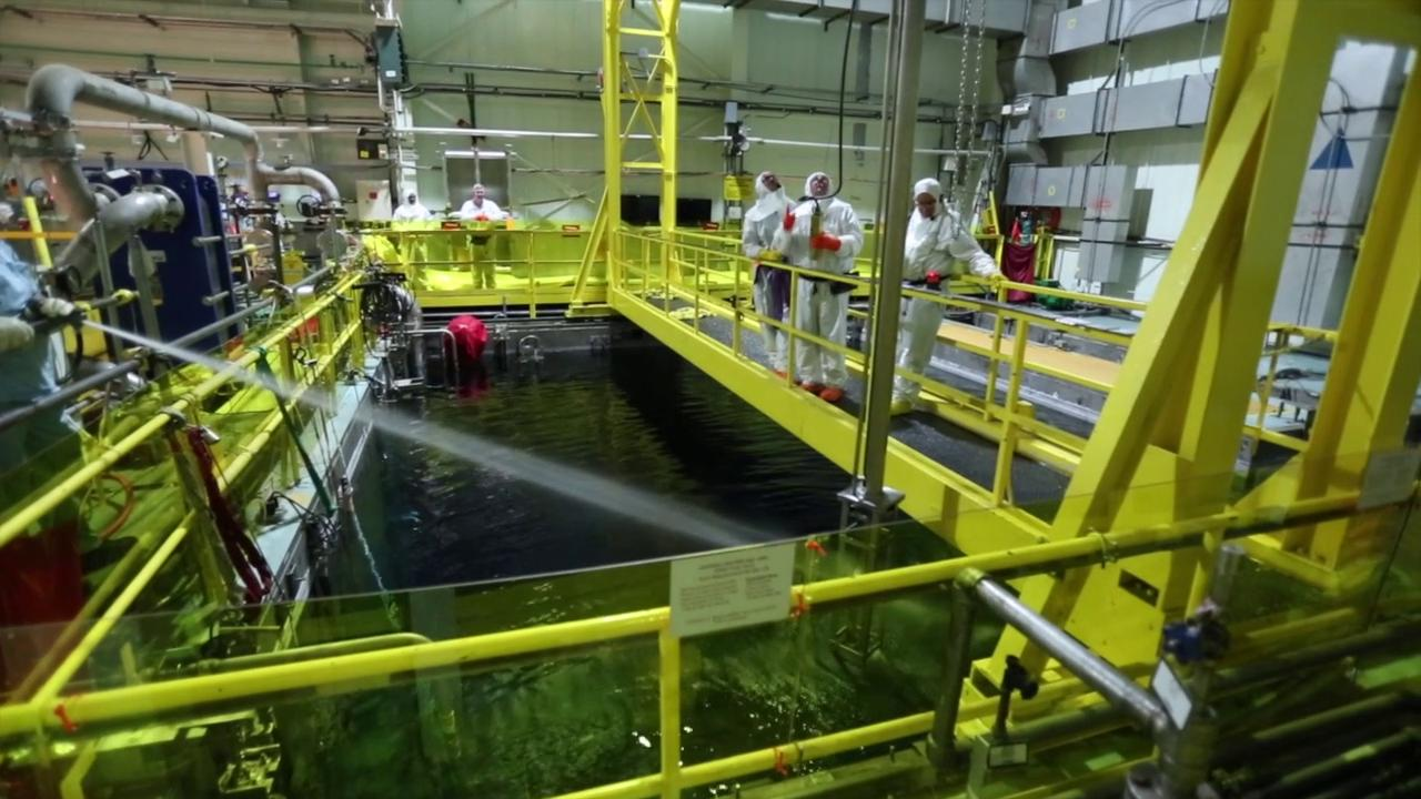 Inside Indian Point: Spent fuel pool