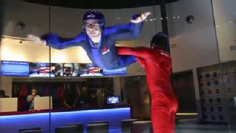 VIDEO: Go indoor skydiving in Yonkers
