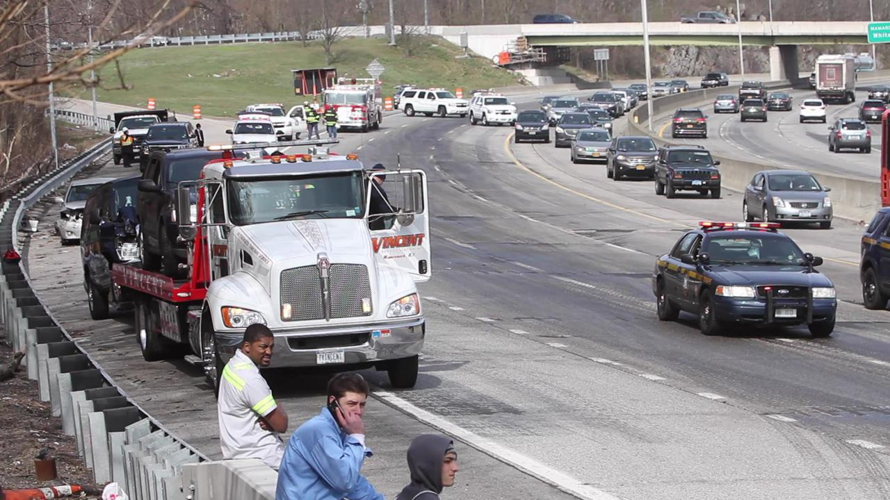 I-95 Accident in Mamaroneck
