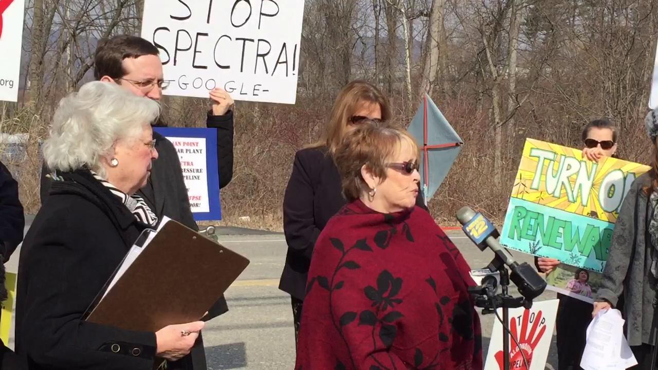 Talbot denounces pipeline