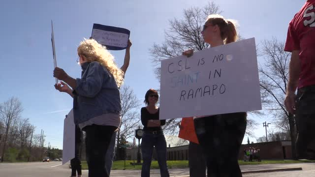 St. Lawrence resignation protest