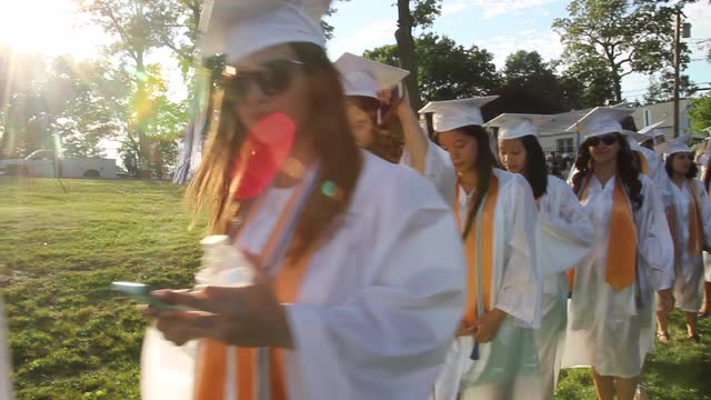 Port Chester High School Graduation on June 24,  2016. ( Carucha L. Meuse / The Journal News )