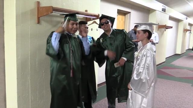 Woodlands High School held their graduation at the Westchester County Center in White Plains, June 24, 2016. (Video by Mark Vergari/The Journal News)