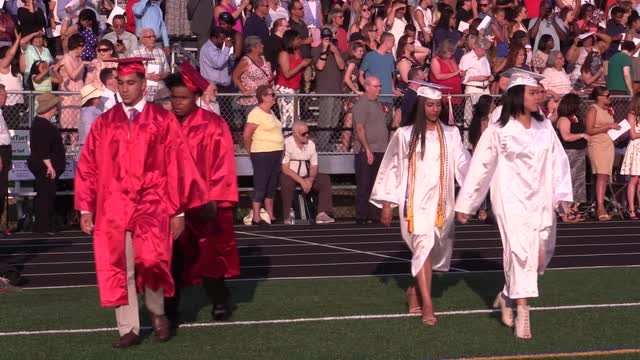 Sleepy Hollow High School held its 2016 graduation Thursday. (Video by Seth Harrison/The Journal News)