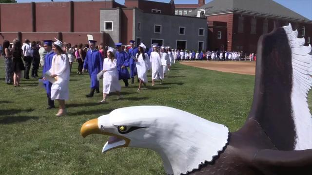 Eastchester High School held their 88th commencement on their campus in Eastchester, June 24, 2016. (Video by Mark Vergari/The Journal News)