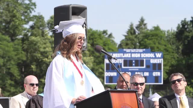 The Westlake High School 2016 graduation ceremony on the football field at Westlake High School in Thornwood June 24, 2016. (Video by Frank Becerra Jr./The Journal News)