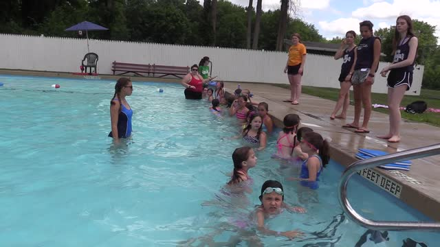 VIDEO: Camper turned head lifeguard talks about camp