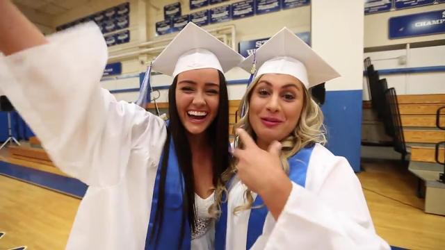 Graduation at Pearl River High School