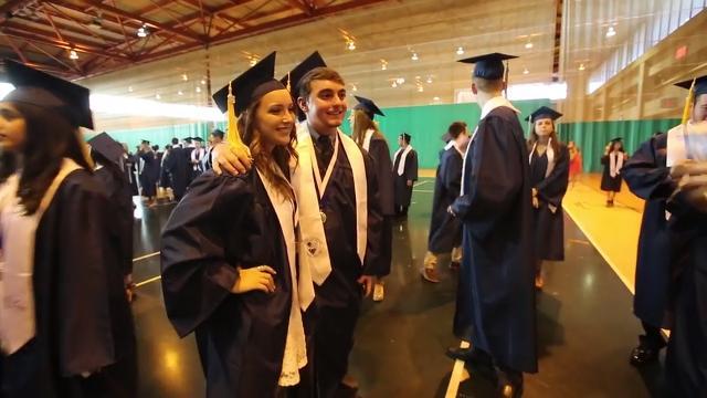Suffern High School graduation at Rockland Community College in Suffern, June 23, 2016.