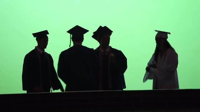 Hendrick Hudson graduation at SUNY Purchase June 26, 2016.