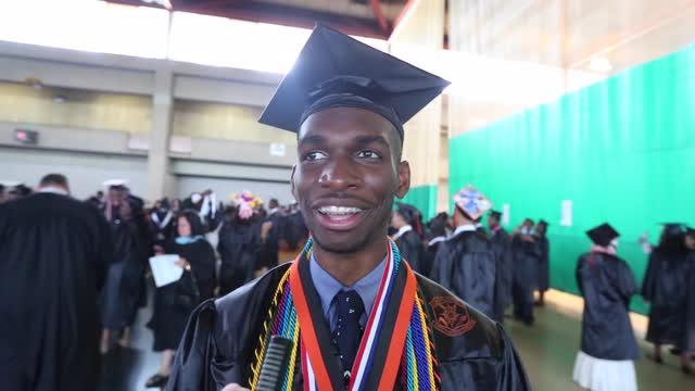 Spring Valley High School graduation at SUNY Rockland June 26, 2016.