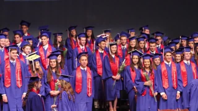 Blind Brook High School graduation ceremony at Purchase College June 23, 2106. (Video by Frank Becerra Jr./The Journal News)
