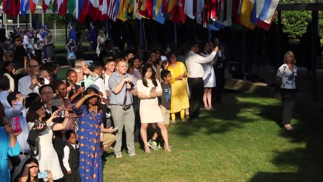 Edgemont High School Graduation in Scarsdale on June 23, 2016. ( Carucha L. Meuse / The Journal News )