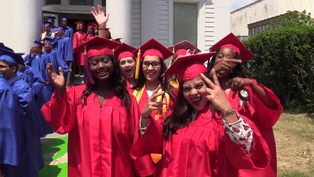 Peekskill High School graduation Class of 2016.  (Video by Ricky Flores/The Journal News)