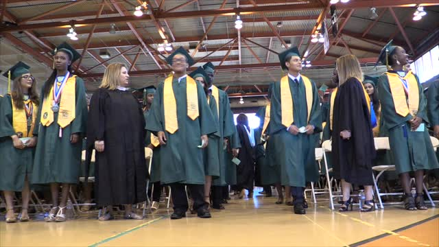 Ramapo High School Graduation Ceremony.