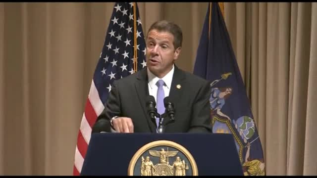 Cuomo speaks following arrest of ex-aide