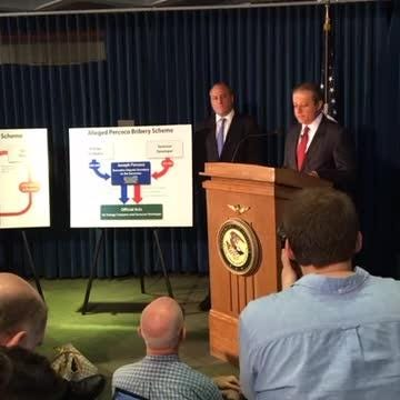 Raw video: Preet Bharara news conference on corruption