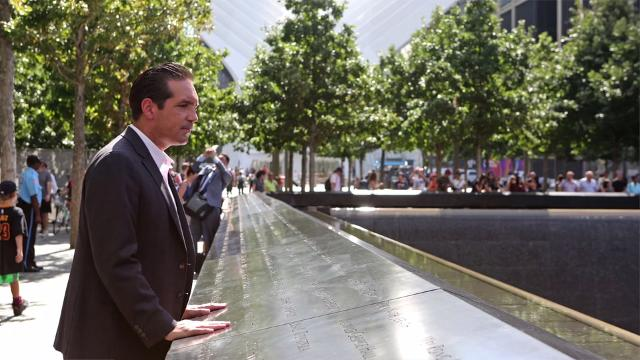 Peekskill's Glenn Guzi, program director for the World Trade Center at the Port Authority of NY and NJ, reflects on the last 15 years, Aug. 30, 2016 in Manhattan.