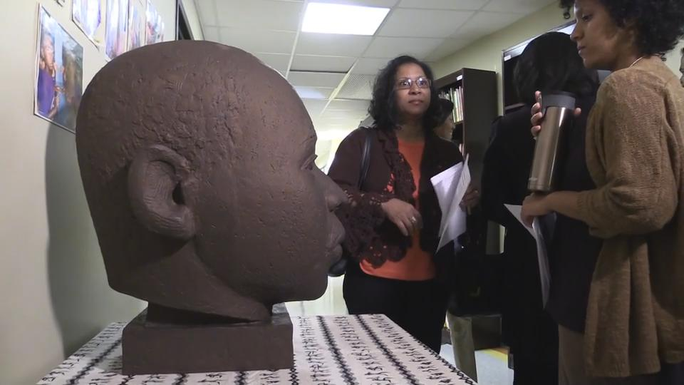 Video: MLK center in Spring Valley launches brick fundraiser