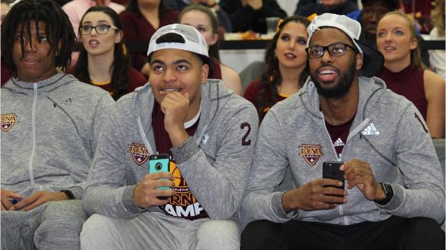 Iona men's basketball earns NCAA Tournament date with Oregon